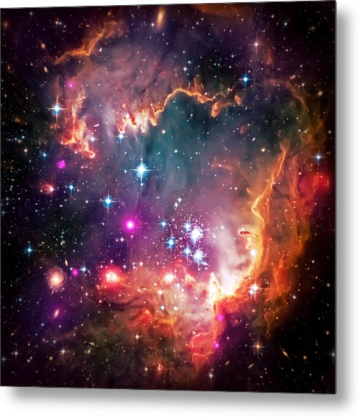 Magellanic Cloud 2 Metal Print
