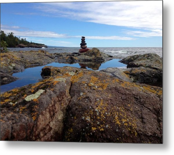 Magestic Metal Print by Carolyn Bistline