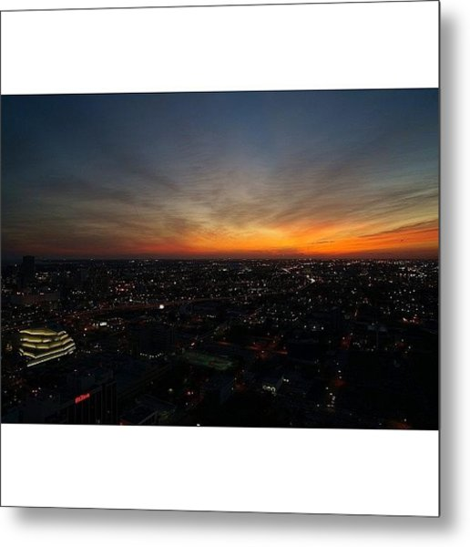 Magic City - Miami Metal Print