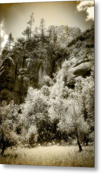 Magic Cliffs Outside Sedona Metal Print