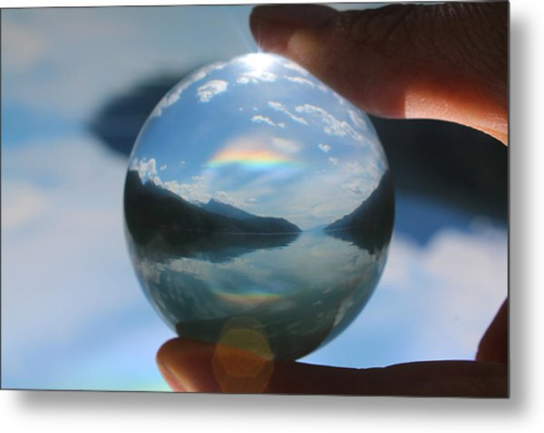 Magic In The Air Metal Print