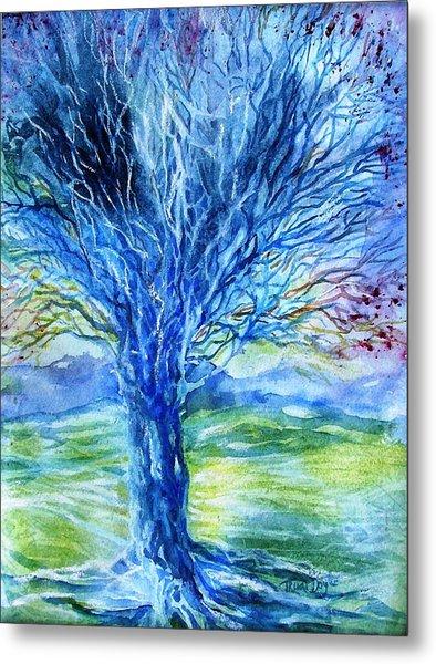 Magic Thorn Tree The Celtic Tree Of Life Metal Print