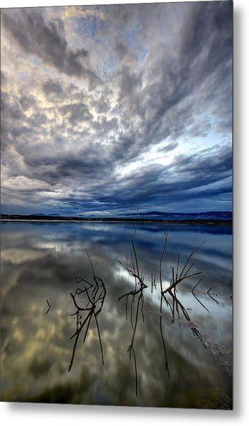 Magical Lake - Vertical Metal Print