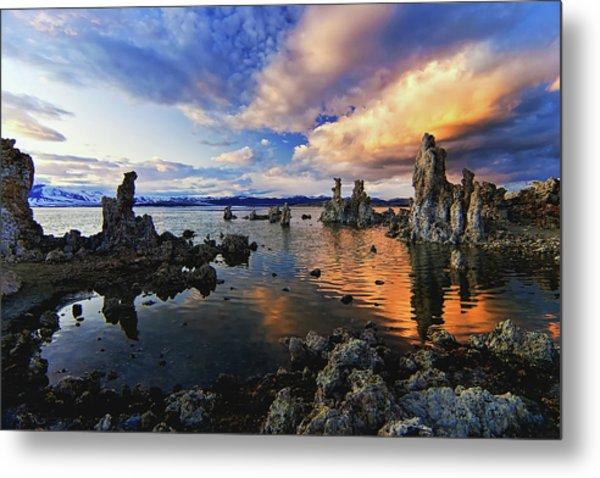 Magical Mono Lake Metal Print
