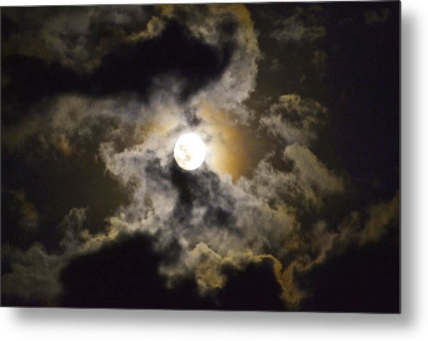 Magical Moon Metal Print