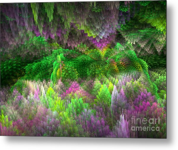 Magical Mystery Woods Metal Print