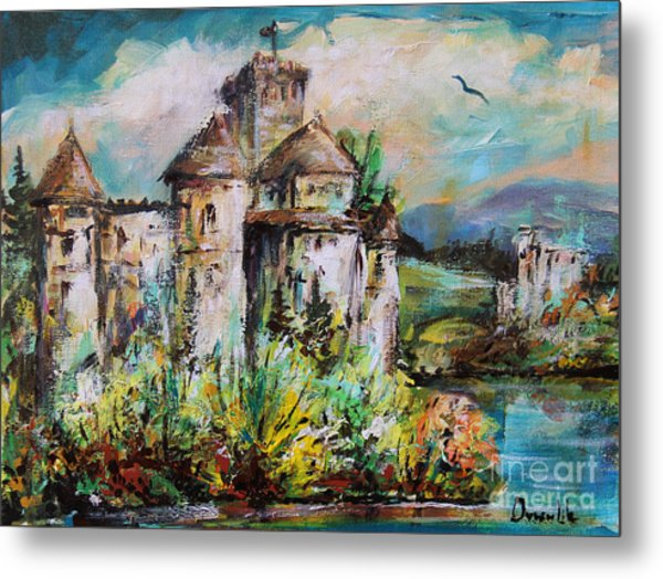 Magical Palace Metal Print