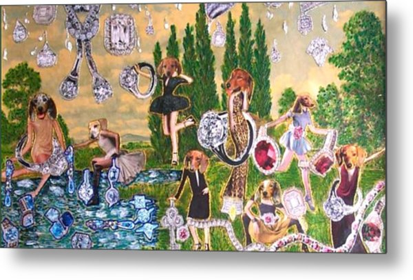 Magical World Metal Print