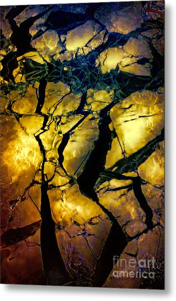 Magical Yellow 2 Metal Print