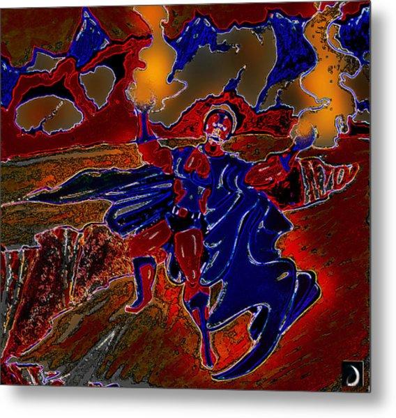 Magneto  Metal Print by Jazzboy