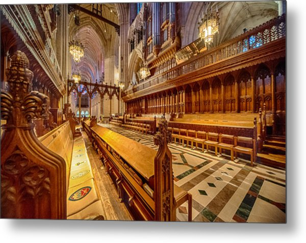 Magnificent Cathedral I Metal Print