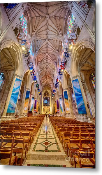 Magnificent Cathedral II Metal Print