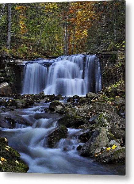 Magnificent Waterfall Metal Print