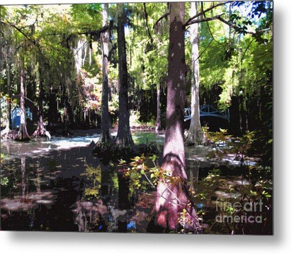 Magnolia Gardens South Carolina Metal Print