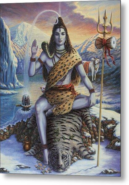 Mahadeva Shiva Metal Print