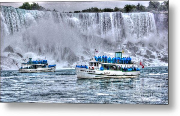 Maid Of The Mist Metal Print