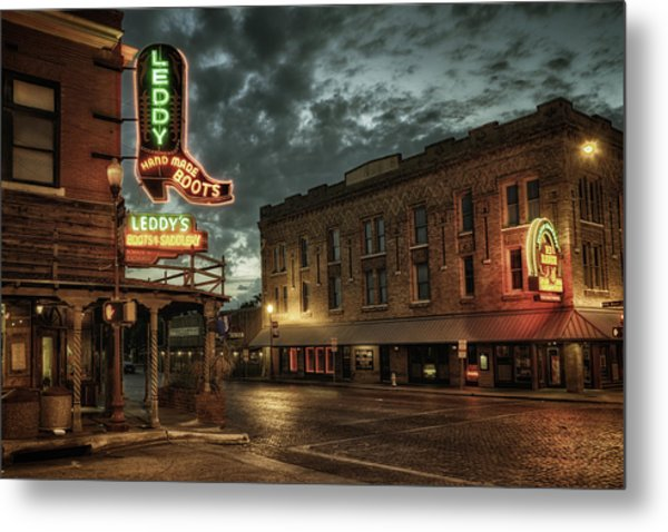 Main And Exchange Metal Print
