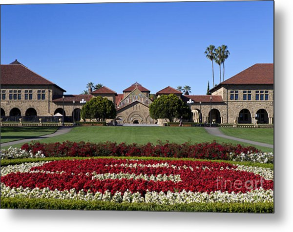 Main Quad Stanford California Metal Print