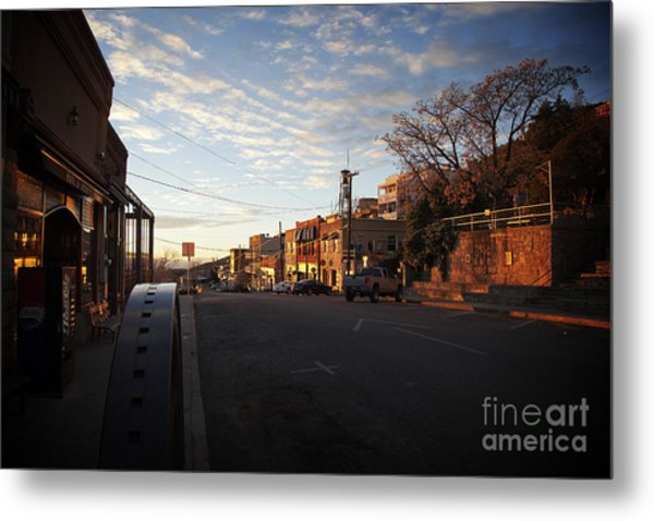 Main Street Jerome Arizona Metal Print
