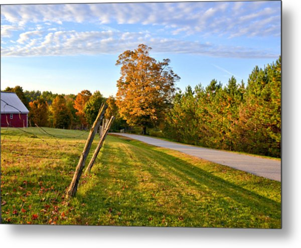 Maine Morning Metal Print