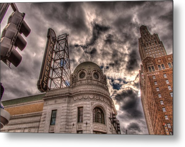 Mainstreet Theater Metal Print