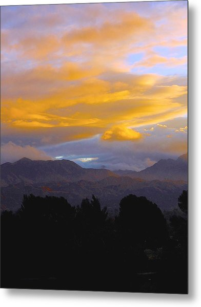 Majestic Earth And Sky Metal Print