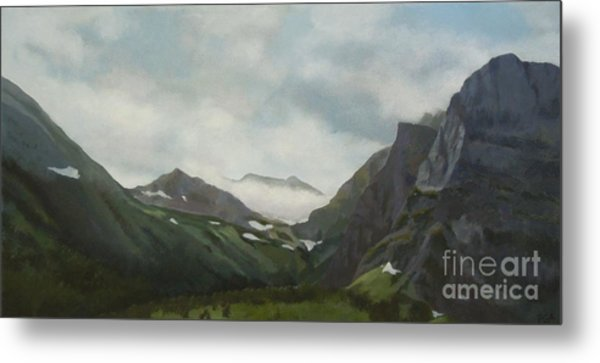 Majestic Glacier Park Metal Print