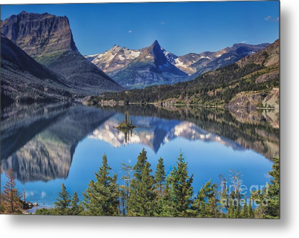 Majestic Reflection Metal Print