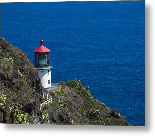 Makapuu Lighthouse 1 Metal Print