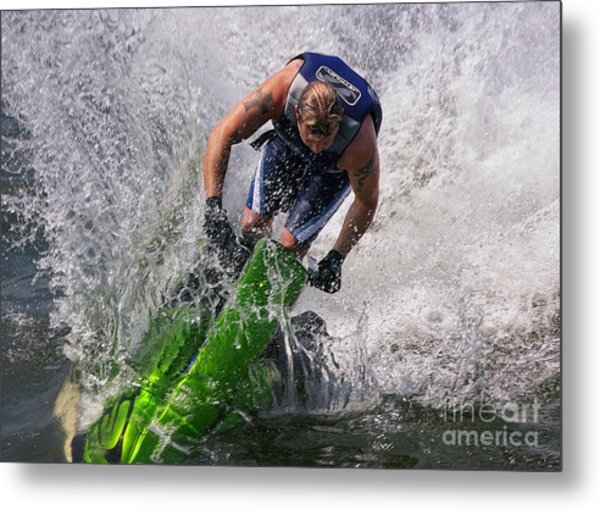 Making Waves Metal Print
