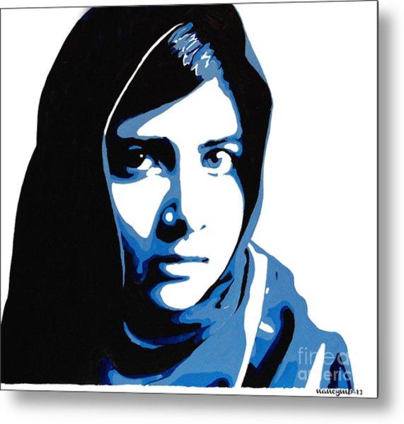 Malala Yousafzai On Friday Metal Print