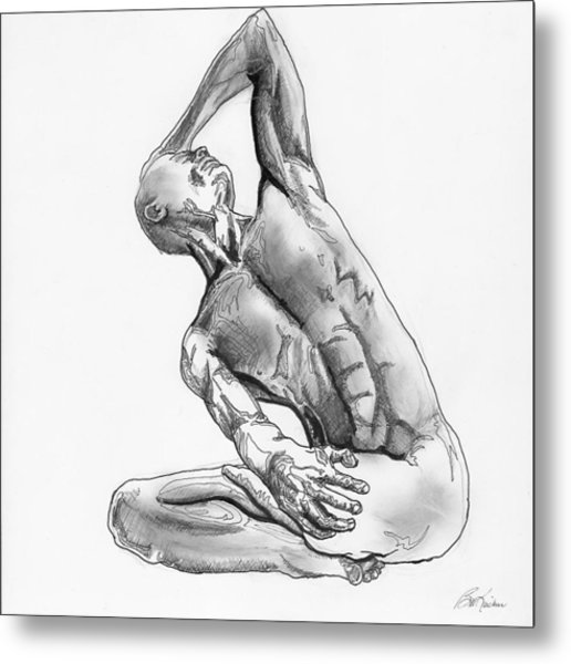 Male Nude 4 Metal Print