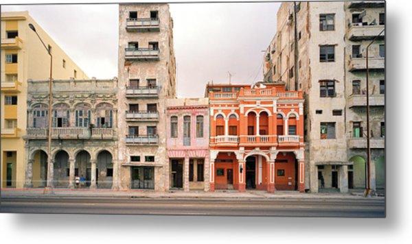 Malecon In Havana Metal Print