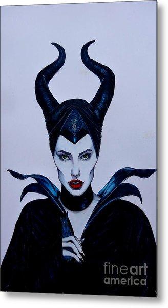 Maleficent Metal Print