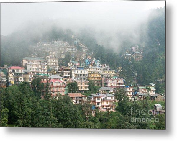 Maleod Ganj Of Dharamsala Metal Print