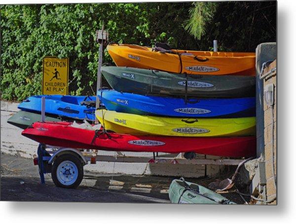 Malibu Kayaks Metal Print