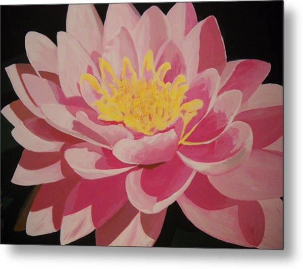 Mama's Lovely Lotus Metal Print
