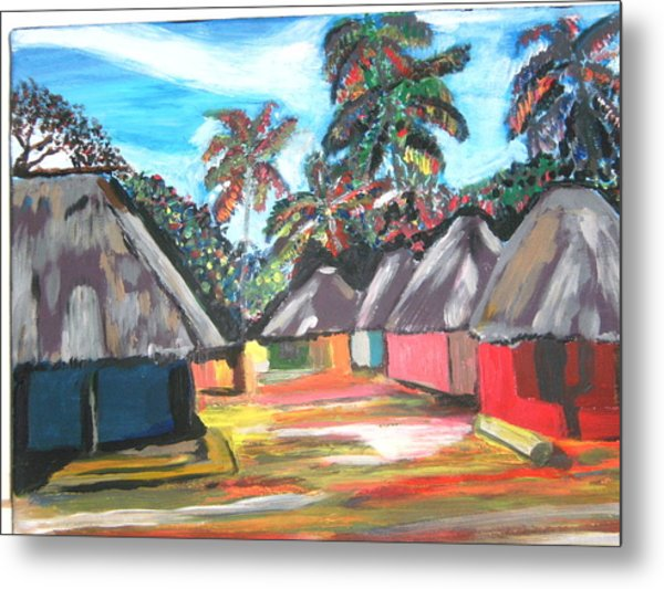 Mamboima The Tamarinds Village Metal Print