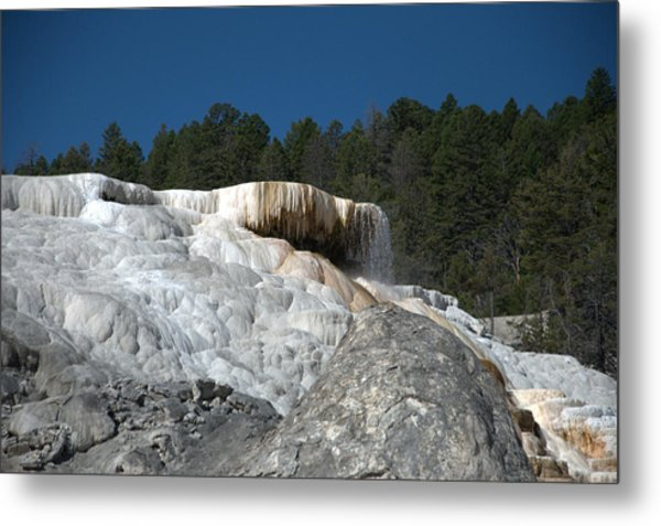 Mammoth Hot Springs 1 Metal Print