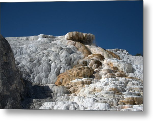 Mammoth Hot Springs 2 Metal Print