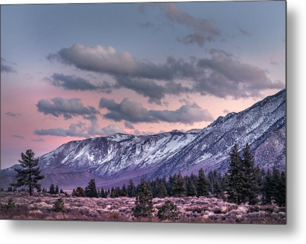 Mammoth Mountain Near Mammoth Lakes Metal Print
