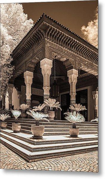 Mamounia Hotel In Marrakech Metal Print