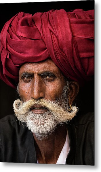 Man From Rajasthan Metal Print