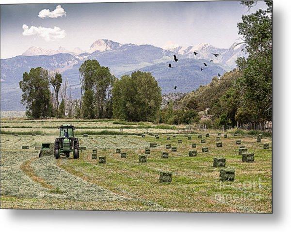 Mancos Colorado Landscape Metal Print
