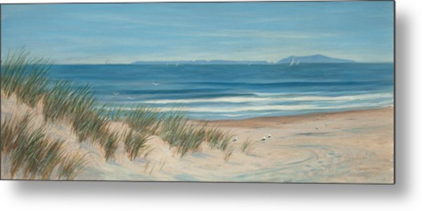 Mandalay Beach Metal Print by Tina Obrien