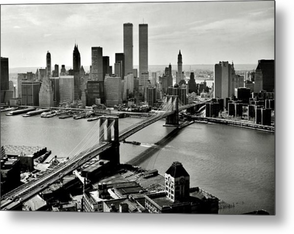Manhattan 1978 Metal Print