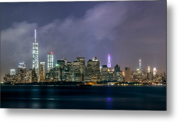 Manhattan Island  Metal Print