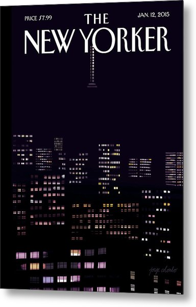 Limited Visibility Metal Print by Jorge Colombo