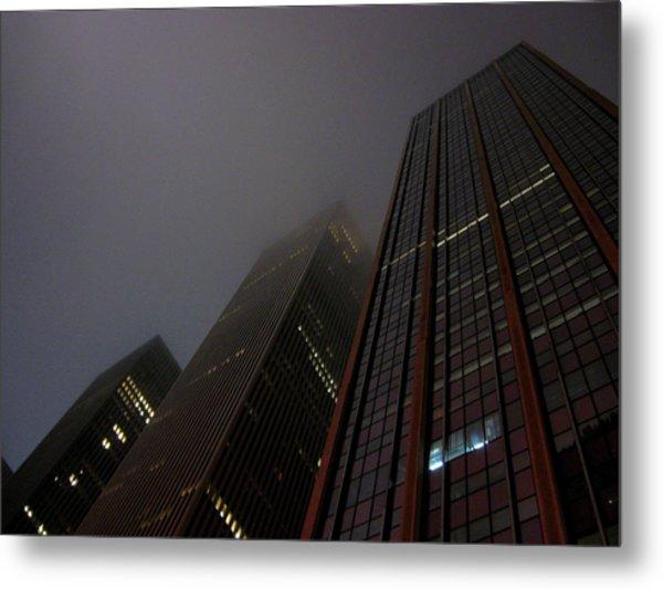 Manhattan Skyscrapers Metal Print