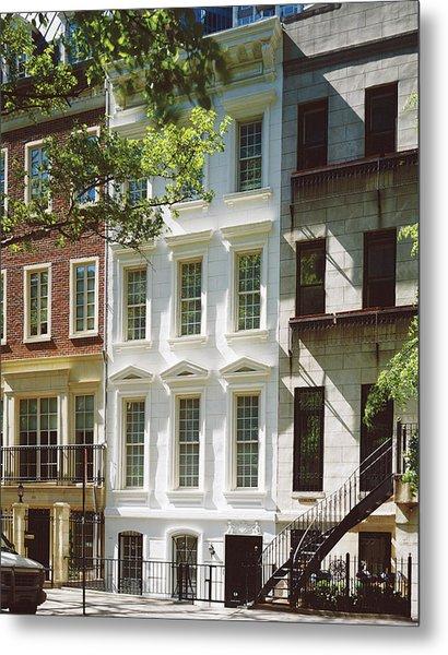 Manhattan Street View Metal Print by Durston Saylor